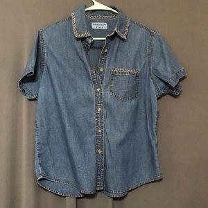 Wrangler Blues blue Jean shirt